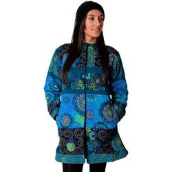 Vêtements Femme Manteaux Coton Du Monde Manteau KWANGO Bleu