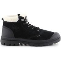 Chaussures Femme Bottes de neige Palladium Pampa LO WT Noir