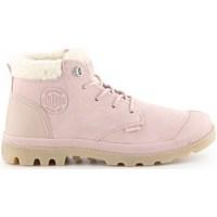 Chaussures Femme Bottes de neige Palladium Pampa LO Rose
