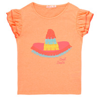 Vêtements Fille T-shirts manches courtes Billieblush / Billybandit NORE Orange