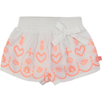 Vêtements Fille Shorts / Bermudas Billieblush / Billybandit NEYO Blanc