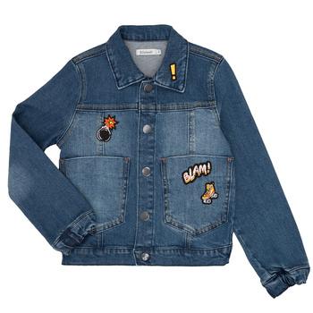 Vêtements Garçon Vestes en jean Billieblush / Billybandit NOTINIO Bleu