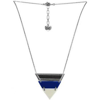 Montres & Bijoux Femme Colliers / Sautoirs Franck Herval Collier triangle  Collection 'Kilim' 15-60934 Noir