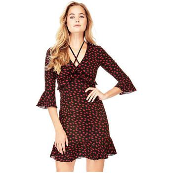 Vêtements Femme Robes courtes Guess Robe Penelope Kiss Noir 38