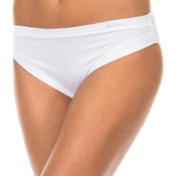 Sous-vêtements Femme Slips Janira Pack-3 Braguitas Blanc