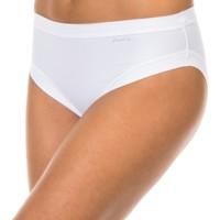 Sous-vêtements Femme Slips Janira Braguita Micro fibre Blanc