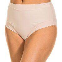 Sous-vêtements Femme Culottes gainantes Janira Braguita Micro fibre Beige