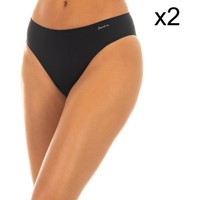 Sous-vêtements Femme Culottes & slips Janira Pack-2 Culottes Noir