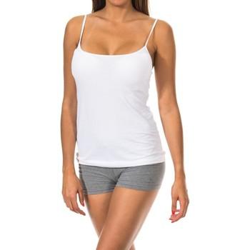 Sous-vêtements Femme Maillots de corps Janira réservoir Blanc