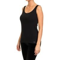 Sous-vêtements Femme Maillots de corps Janira chemise large sangles Noir