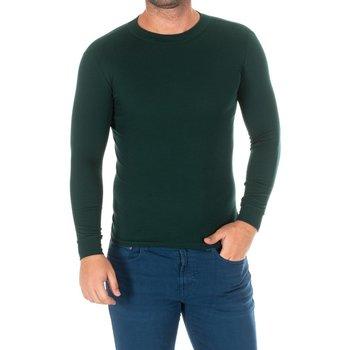 Vêtements Homme T-shirts manches longues Kisses And Love Bisous et amour T-shirt long Vert