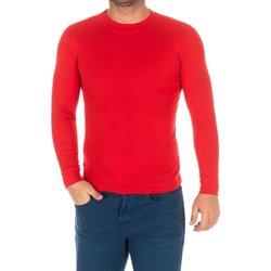 Vêtements Homme T-shirts manches longues Kisses And Love Bisous et amour T-shirt long Rouge