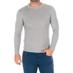 Vêtements Homme T-shirts manches longues Kisses And Love Bisous et amour T-shirt long Gris