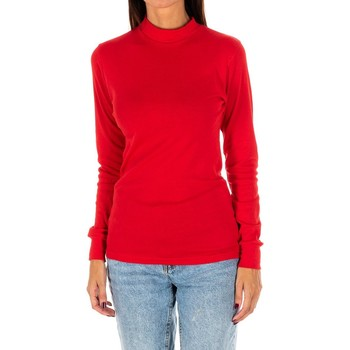 Vêtements Femme T-shirts manches longues Kisses And Love Bisous et amour T-shirt long Rouge