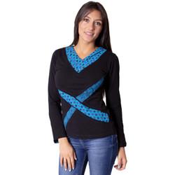 Vêtements Femme Tops / Blouses Coton Du Monde Denali Bleu