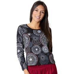 Vêtements Femme Tops / Blouses Coton Du Monde Silki Gris