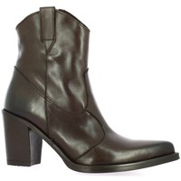 Chaussures Femme Bottines Emanuele Crasto Boots cuir Marron