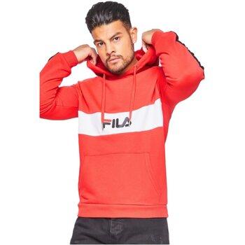 Vêtements Homme Sweats Fila 687033 jeremy Rouge