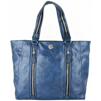 Sacs Femme Cabas / Sacs shopping Girls Power Sac cabas  Rock Bleu imitation Multicolor