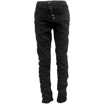 Vêtements Femme Jeans slim By La Vitrine Jeans noir B3021-H Noir