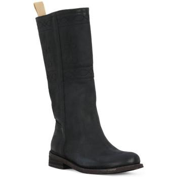 Chaussures Femme Bottes ville Felmini BLACK CRONO Nero