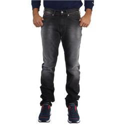 Vêtements Homme Jeans droit Tommy Jeans Jean  ref_47419 Gris Foncé Gris