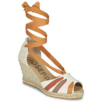 Chaussures Femme Sandales et Nu-pieds Gioseppo ARLEY Ecru / Moutarde