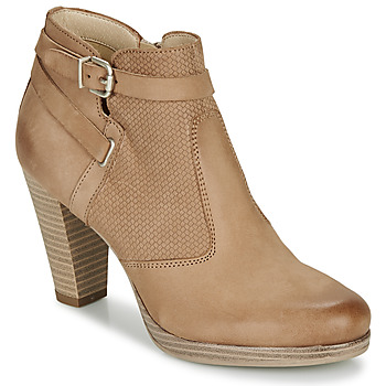 Chaussures Femme Bottines André BERNETTA Camel