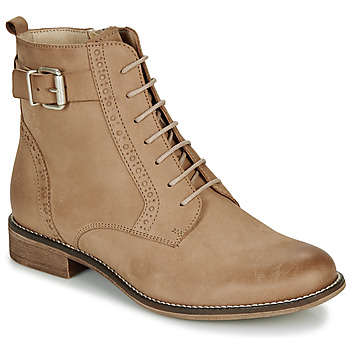 Chaussures Femme Boots André CHEPTELA Camel