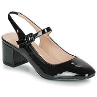 Chaussures Femme Ballerines / babies André JONNA NOIR VERNIS
