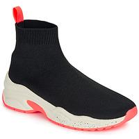 Chaussures Femme Baskets montantes André HARUNA Noir