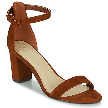 Chaussures Femme Sandales et Nu-pieds André BERTILLE Marron