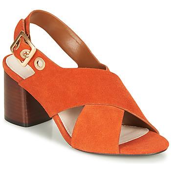 Chaussures Femme Sandales et Nu-pieds André JANNINE Orange