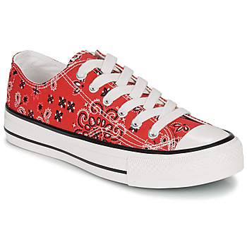 Chaussures Femme Baskets basses André HAPPY Rouge
