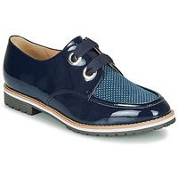 Chaussures Femme Derbies André MADDO Bleu