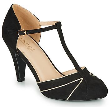 Chaussures Femme Escarpins André JULIETTE Noir