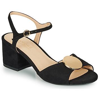 Chaussures Femme Sandales et Nu-pieds André JEANETTE Noir
