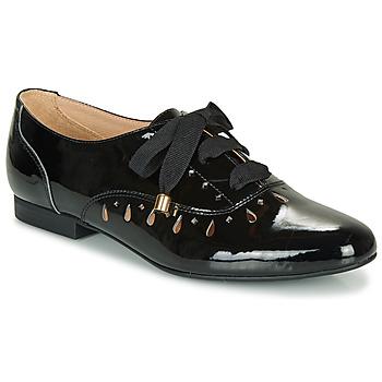 Chaussures Femme Derbies André JUNIA NOIR VERNIS
