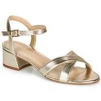Chaussures Femme Sandales et Nu-pieds André VICTORIA Doré