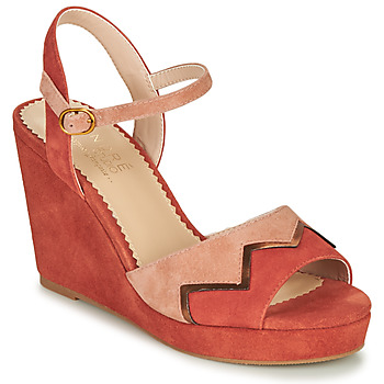 PROMOTION Sandales Femme Spot on F9604 paillettes effet dentelle plateforme Cour Chaussures seulement £ 9.99