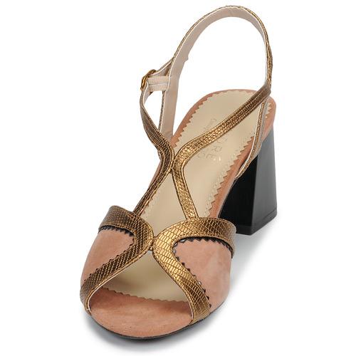 André La Magicienne Rose - Livraison Gratuite- Chaussures Sandale Femme 8899 vr9Dh