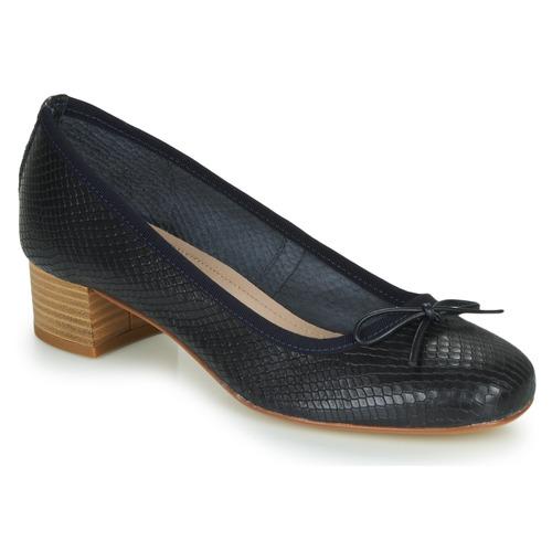 Chaussures Femme Ballerines / babies André POEME Marine