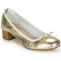 Chaussures Femme Ballerines / babies André POEME Doré