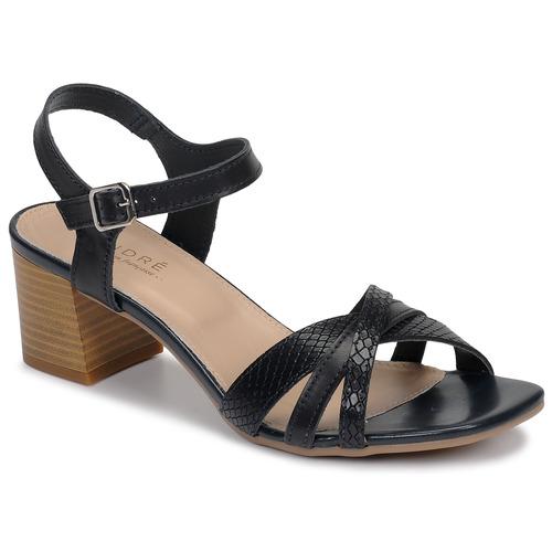 Chaussures Femme Sandales et Nu-pieds André MARJOLAINE Marine