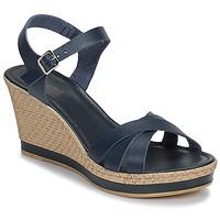 Chaussures Femme Sandales et Nu-pieds André MYRIAM Bleu