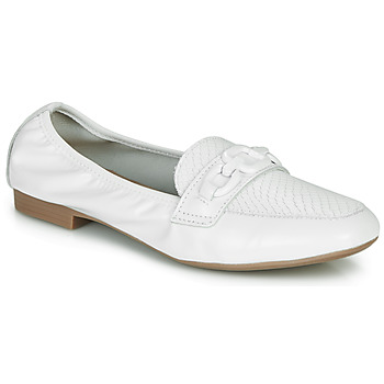 Chaussures Femme Mocassins André MAYRA Blanc