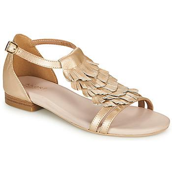 Chaussures Femme Sandales et Nu-pieds André BRIANA Doré