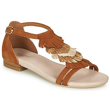 Chaussures Femme Sandales et Nu-pieds André BRIANA Camel