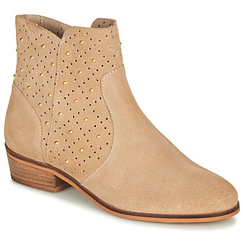 Chaussures Femme Boots André BERTINA Beige