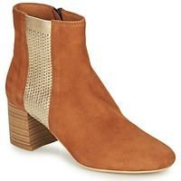 Chaussures Femme Boots André BINDY Camel